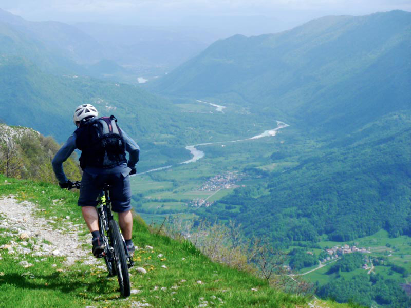 mountainbike slowenien soca bild5